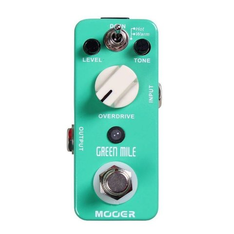 Mooer MOD1 Green Mile Overdrive Pedal