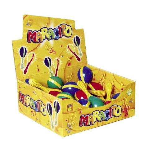 Hohner Maracito - Pair Plastic - Asst Colors S35