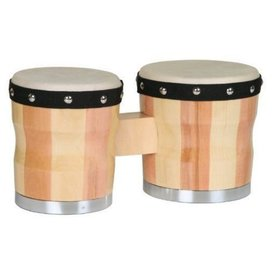 Percussion Plus Percussion Plus 700 Two-Tone Wood Bongos
