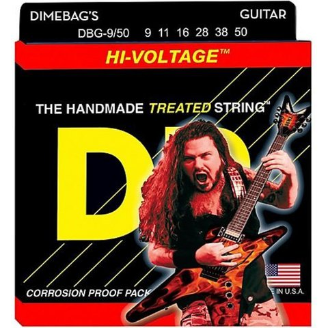 DR DBG-9 Dimebag Darrell Signature Electric Guitar Strings, 9-42