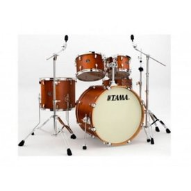 "TAMA Tama Silverstar Antique Brown with 18"" and 22"" bass, 12"" rack and 14"" floor"