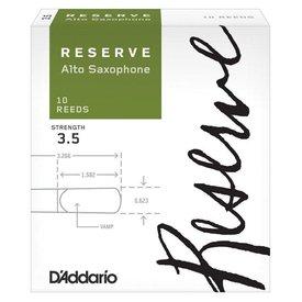 Rico Rico Reserve DJR1035 Alto Saxophone Reeds 10 Pack Strength 3.5