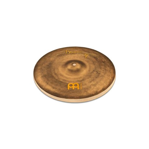 Meinl Cymbals Byzance 14'' Vintage Sand Hats, Benny Greb Signature Hats