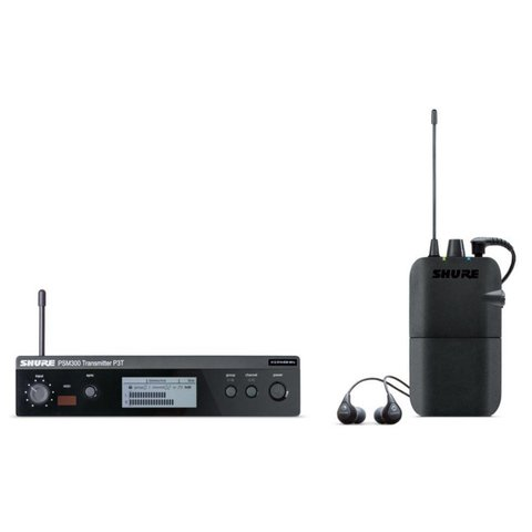 Shure PSM300 In Ear Monitor System P3TR112GR-G20 PSM300