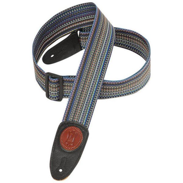 "Levy's Leathers Levy's MSS8-MLT 2"" Signature Series Soft-Hand Polypropylene Guitar Strap"