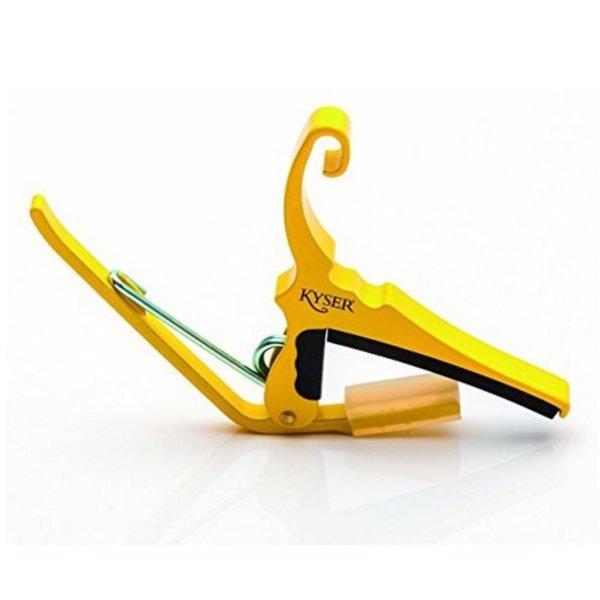 Kyser Kyser KG6Y 6-String Capo, Yellow Blaze