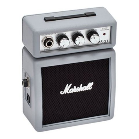 Marshall MS-2J Limited Edition Silver Jubilee Micro Amp
