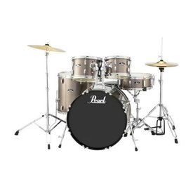 Pearl Pearl RS525SC/C707 RS Roadshow 5 pc Set with Hardware & Cymbals #707 Bronze Metallic