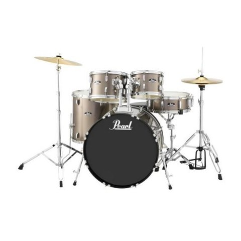 Pearl RS525SC/C707 RS Roadshow 5 pc Set w/ Hw & Cymbals #707 Bronze Metallic