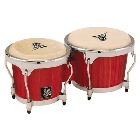 LP City Bongos - Red Wood