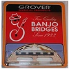 Grover 96 5-String Banjo Bridge, 5/8""