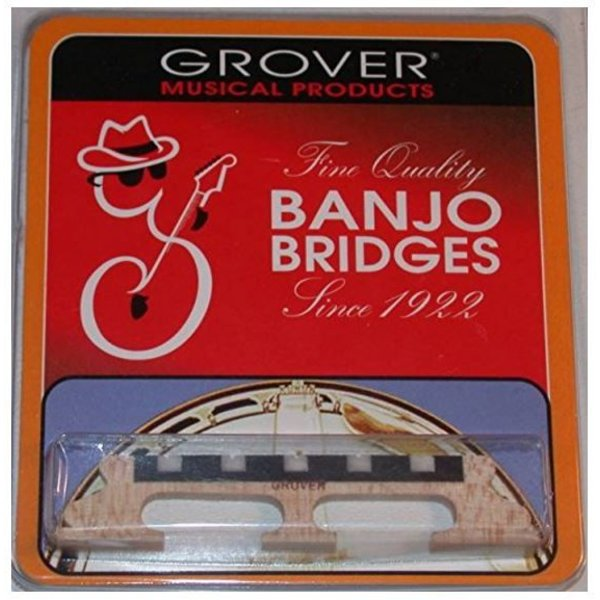 Grover Grover 96 5-String Banjo Bridge, 5/8""