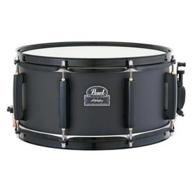 "Pearl Pearl JJ1365N Joey Jordison Signature Slipknot 13"" x 6.5"" Steel Snare Drum with Black Hardware"
