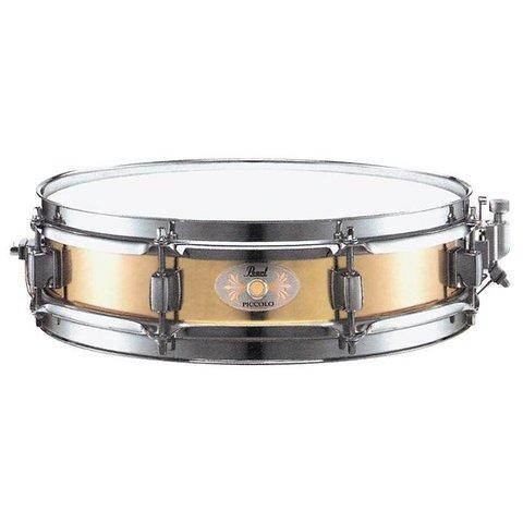 "Pearl B1330 13"" x 3"" Brass Shell Piccolo Snare Drum"
