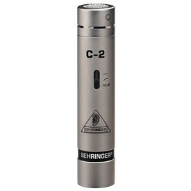 Behringer Behringer C-2 Small-diaphragm Cardioid Condenser Microphone