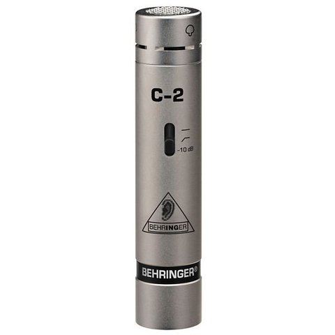 Behringer C-2 Small-diaphragm Cardioid Condenser Microphone