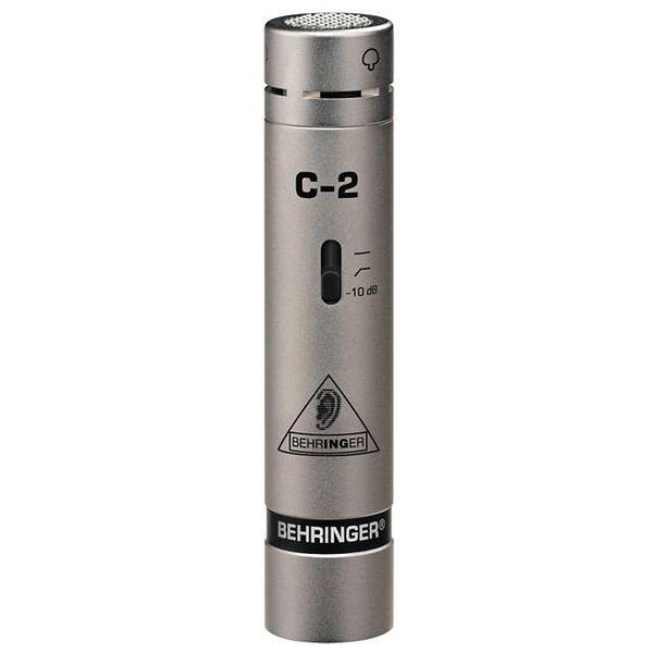 Behringer Behringer C-2 Small-diaphragm Cardioid Condenser Microphone