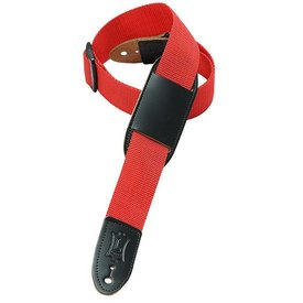 Levy's Leathers Levy's M8PJ-RED Polypropylene Girls' Guitar Strap