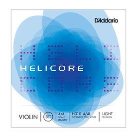 D'Addario Orchestral D'Addario Helicore Violin String Set with Wound E, 4/4 Scale, Light Tension