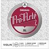 D'Addario Pro-Arte Violin String Set with Wound E, 4/4 Scale, Medium Tension