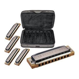 Hohner Hohner COB Case of Blues Harps (Model 532) Keys of A, C, D, G,& E