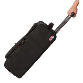 Gator Gator GR-RACKBAG-3UW 3U Lightweight rack bag w/ tow handle and wheels