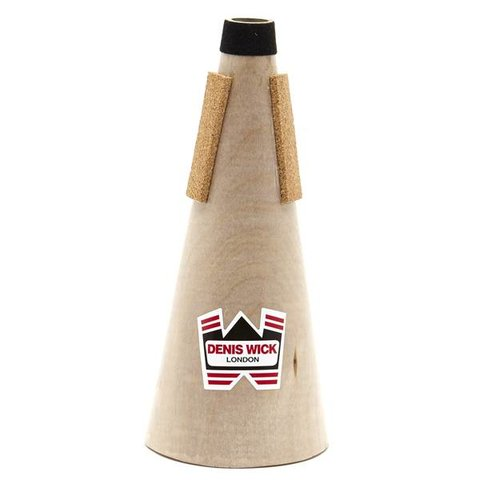 Denis Wick D Trumpet/Eb Cornet Wooden Straight Mute; Special Order