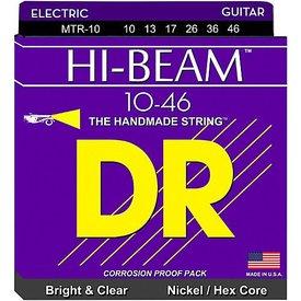 DR Strings DR Strings MTR-10 Medium HI-BEAM Nickel Plated Electric: 10, 13, 17, 26, 36, 46
