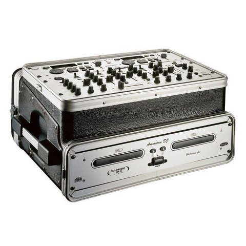 Gator GRC-6X4 6U Top, 4U Side Console Audio Rack