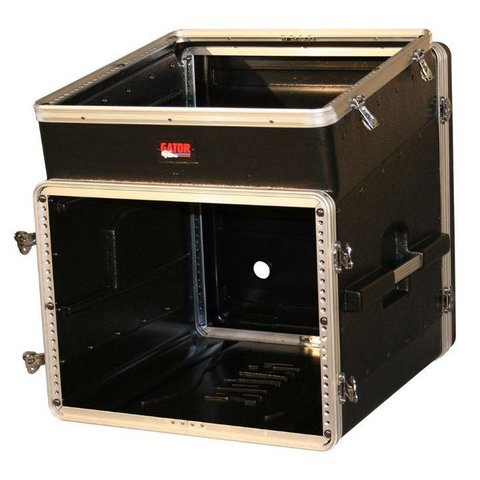 Gator GRC-10X8 10U Top, 8U Side Console Audio Rack