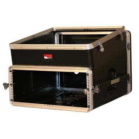 Gator GRC-10X4 10U Top, 4U Side Console Audio Rack