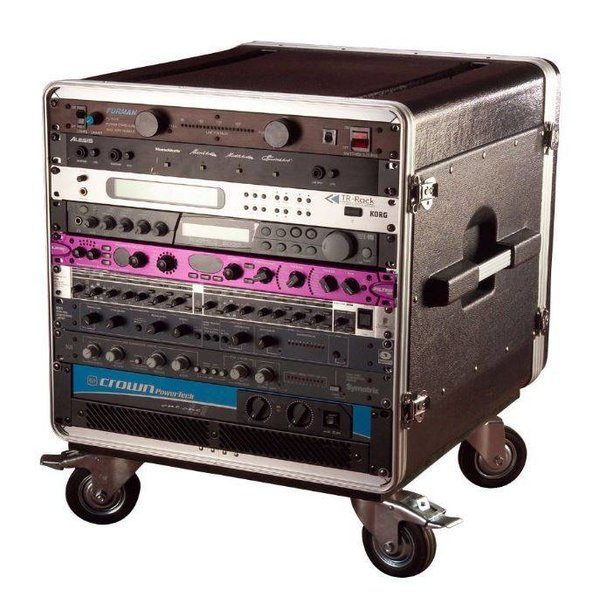 Gator Gator GRC-BASE-14 14U Rack Base w/ casters, for Console Audio Racks