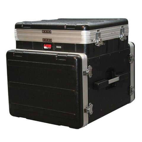 Gator GRC-10X8 PU 10U Top, 8U Side Console Audio Rack