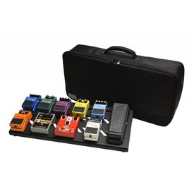 Gator Gator GPB-BAK-1 Black Aluminum Pedal Board; Large w/ Carry Bag