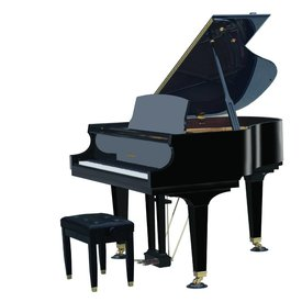 "Baldwin Baldwin BP148 HPE 4'10"" Grand in Polished Ebony"
