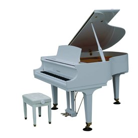 "Baldwin Baldwin BP165 HPWH 5'5"" Grand in Polished White"