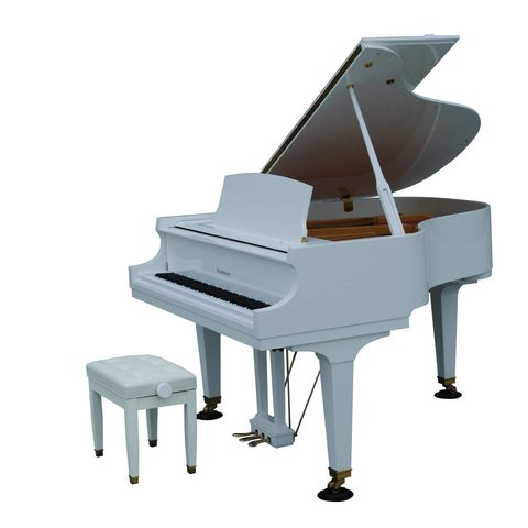 Baldwin BP165 HPWH 5'5'' Grand in Polished White