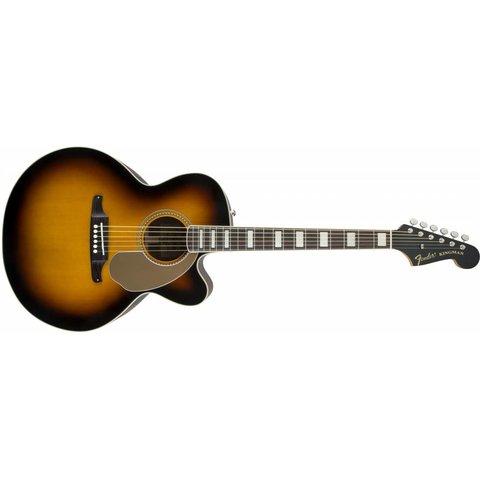 Fender Kingman Jumbo SCE Acoustic-Electric Guitar 3-Color Sunburst