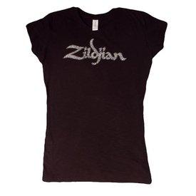 Zildjian Zildjian Women's Trademark T-Shirt, Black