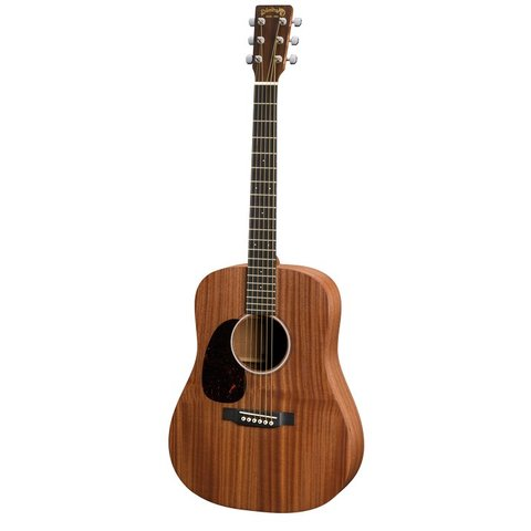 Martin D Jr 2E Sapele Lefty Junior w/ Deluxe Bag