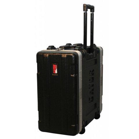 Gator GRR-4PL-US 4U Audio Rack; Powered Rolling