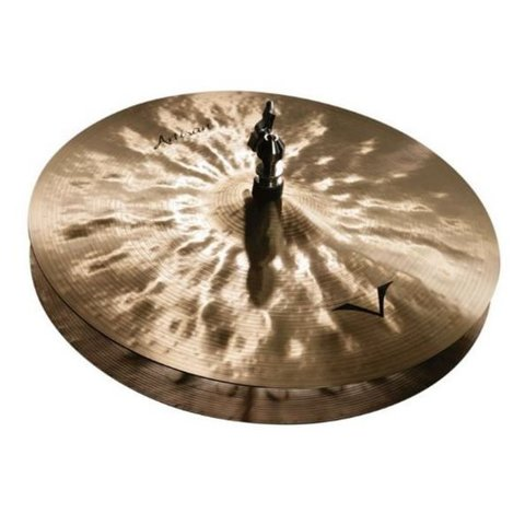 "Sabian A1302B 13"" Artisan Hi-Hats Brilliant Finish"