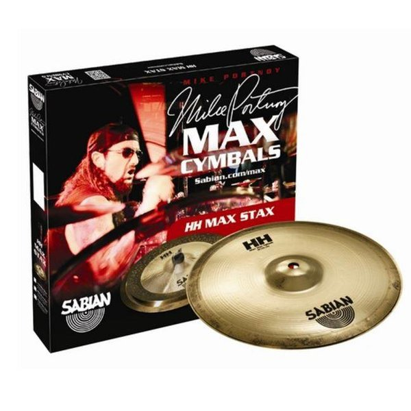 Sabian Sabian 15005MPMB HH Mid Max Stax Set Brilliant Finish