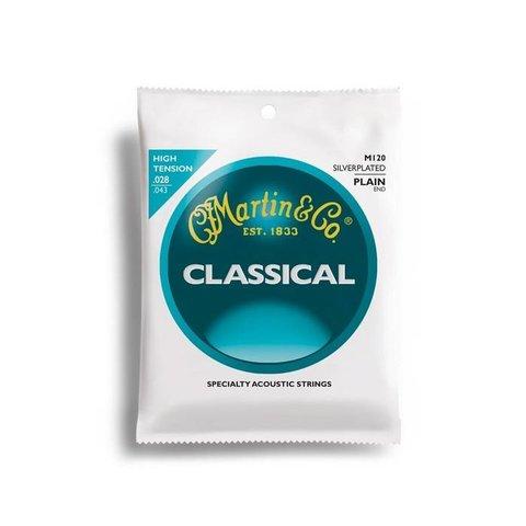 Martin Classical, High Tension, Silver-plated, Plain End