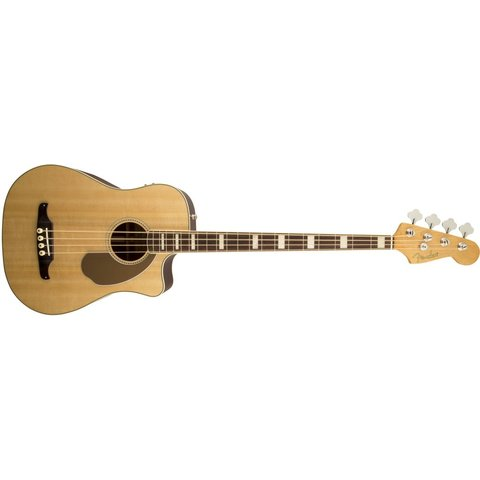Fender Kingman SCE Acoustic-Electric Bass Guitar Natural