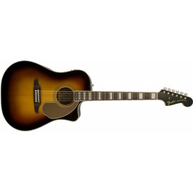 Fender Fender California Series Kingman ASCE Acoustic-Electric Guitar w/ Case, Sunburst