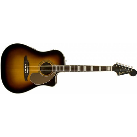 Fender California Series Kingman ASCE Acoustic-Electric Guitar w/ Case, Sunburst