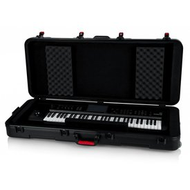Gator Gator GTSA-KEY61 TSA ATA Molded 61-note Keyboard Case w/ Wheels