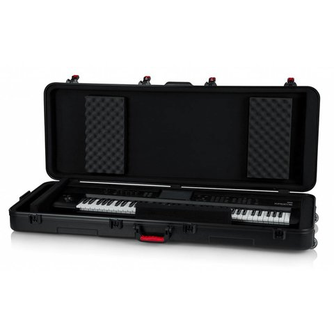 Gator GTSA-KEY76 TSA ATA Molded 76-note Keyboard Case w/ Wheels