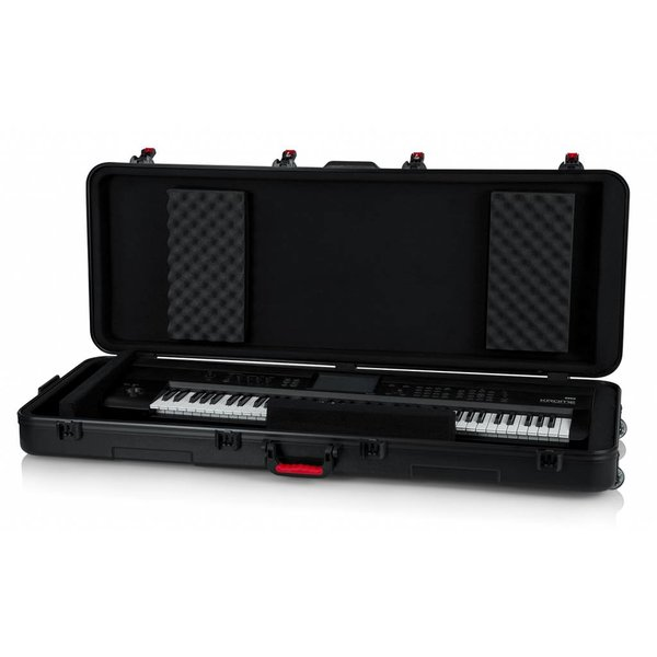 Gator Gator GTSA-KEY76 TSA ATA Molded 76-note Keyboard Case w/ Wheels